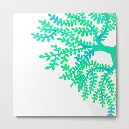 Green Tree. Metal Print