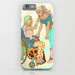 Gyro and Johnny iPhone Case