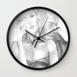 In his arms Wall Clock
