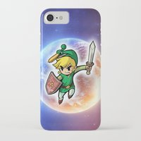 triforce iPhone & iPod Cases featuring Triforce Hero by Febrian89