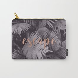 Rose gold escape to nature Carry-All Pouch