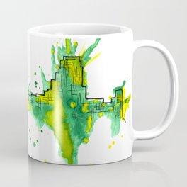 Going Downtown: Wyoming Coffee Mug