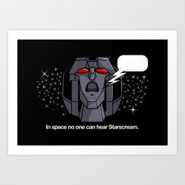 Space Scream Art Print