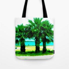 Tropical Tree Trio Tote Bag