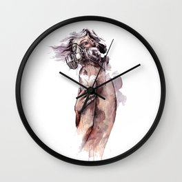 Infectous Beauty Wall Clock