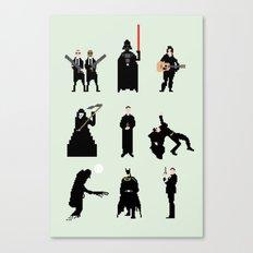 Men in Black Canvas Print