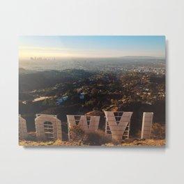 The Sign Metal Print