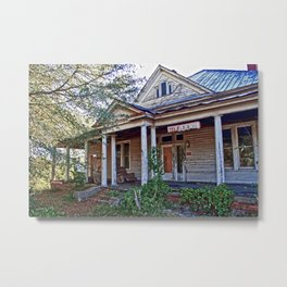 House on the Hill 2 Metal Print