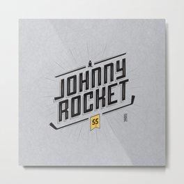Johnny Rocket Metal Print