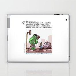 Hulk in Love Laptop & iPad Skin