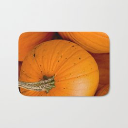 Small Pumpkin in a Pumpkin Patch Bath Mat