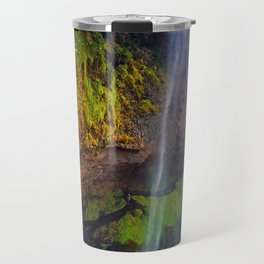 Seljalandsfoss Waterfall in Southern Iceland (1) Travel Mug