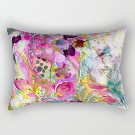 Symphony of Petals Rectangular Pillow