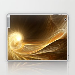 Golden Spiral Laptop & iPad Skin