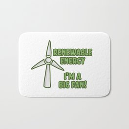 Renewable Energy Bath Mat