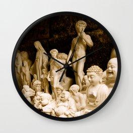 Idols & Ivory Wall Clock