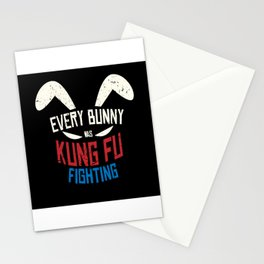 Every Bunny Was Kung Fu Fighting Bunny Stationery Cards