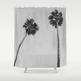 Palms Noir Shower Curtain