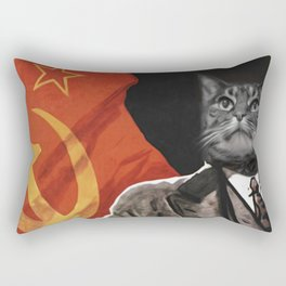 Soviet Cat Rectangular Pillow
