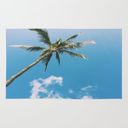 Clouds and Palms  Rug