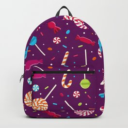 Delightful Candy Pattern Backpack