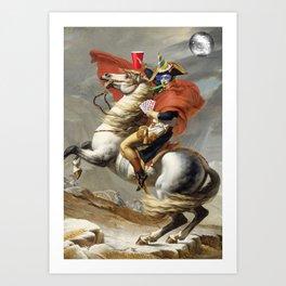 Napoleon Born2party Art Print