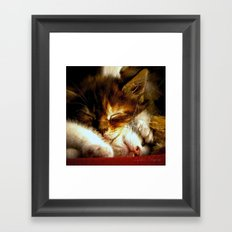 The good life Framed Art Print