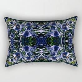 Beautiful Blue Rectangular Pillow