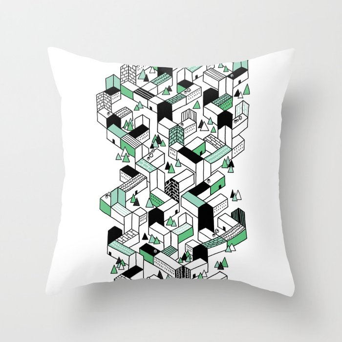 Home To A Few Throw Pillow