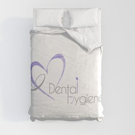 I (heart) Dental Hygiene Comforters