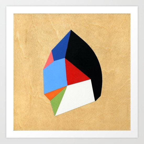 6x6 Shape No:01 Art Print