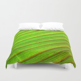 Canna Up Duvet Cover