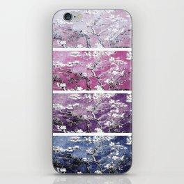 Van Gogh Almond Blossoms Blue Purple Orchid iPhone Skin