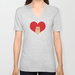 Love Alpaca Unisex V-Neck