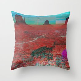 mescaline Throw Pillow