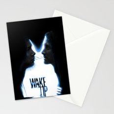 Wake up.....(Donnie Darko Fanart) Stationery Cards