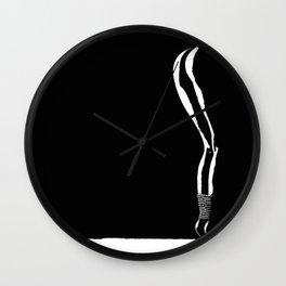 sexy shibari girl Wall Clock