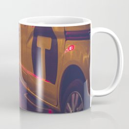 Taxi NYC Life (Color) Coffee Mug