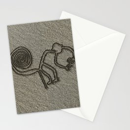 NAZCA LINES THE MONKEY Nazca Lines Art Gift Stationery Cards