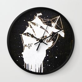 """The Final Voyage"" Wall Clock"