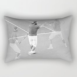 Rafa's running backhand Rectangular Pillow