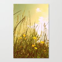 country Canvas Prints featuring Country by Natalie Reed