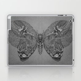 Butterfly skulls 1 Laptop & iPad Skin