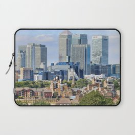 Canary Wharf is a commercial estate in London Laptop Sleeve