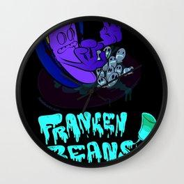 Franken Beans Wall Clock