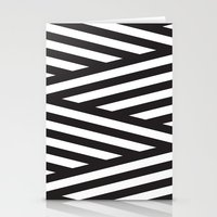 stripes Stationery Cards featuring Stripes by Dizzy Moments