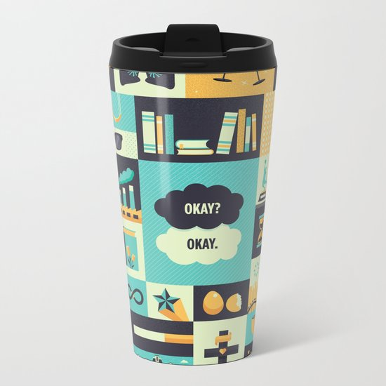 TFiOS Items Metal Travel Mug