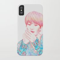 shinee iPhone & iPod Cases featuring SHINee Taemin by sophillustration