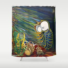 For Thou Art The True Nourishment Shower Curtain