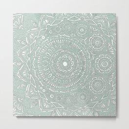 Untitled II (sage) Metal Print